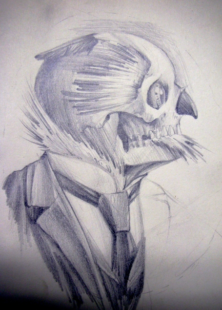 Owl/Skull